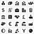 Business and finance icons — Stock Vector #61553361