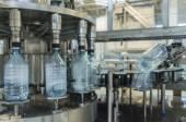 Water bottling plant — Stock Photo