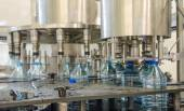 Water bottling plant — Stock Photo