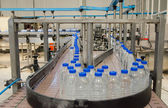 Water bottling factory — Stock Photo