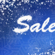 Winter sale background — Stock Photo #60451093