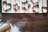 Cookie cutters — Stock Photo
