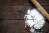 Background for writing  recipes — Stock Photo