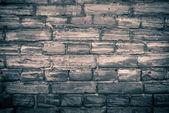 Monochrome brick wall — Stock Photo
