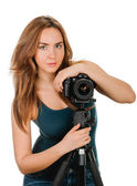Beauty photographer — Stock Photo