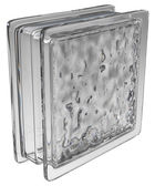 Glass block (wavy) — Zdjęcie stockowe