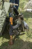 Kalashnikov automatic gun — Stockfoto