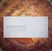 Koperta na drewno — Zdjęcie stockowe