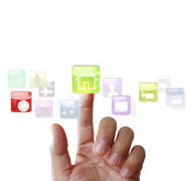 Touch screen display  — Stock Photo