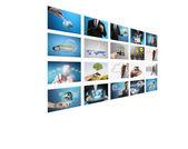 Digital photo album — Stock Photo