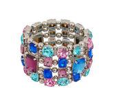 Fashion bracelet isolated on white — Stock Photo
