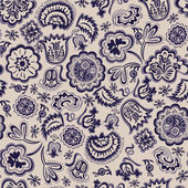 Seamless abstract floral pattern vintage — 图库矢量图片
