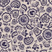 Seamless abstract floral pattern vintage — Vetor de Stock