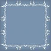 Frame swirling decorative elements ornamental — Stock Vector