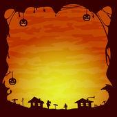 Halloween theme — Stock Vector