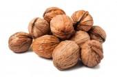 Bunch of walnuts — Stock Photo