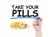 Take your pills — Stock Photo