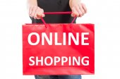 Compras on-line — Fotografia Stock