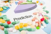 Medicine sales prediction charts — Stock Photo