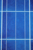 Close-up with solar panel cells — Stock Photo