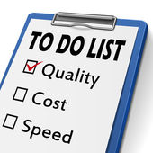 To do list clipboard — Stock Vector