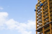 Close up look at construction site  — Stock Photo