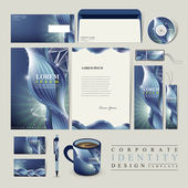 Abstract technology background for corporate identity — Stockvektor