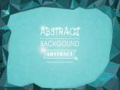 Abstract polygonal background for poster template — Wektor stockowy