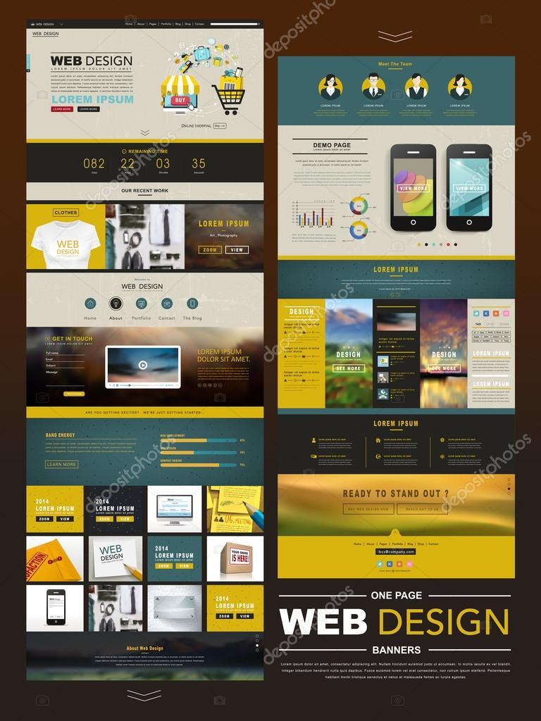 Разработать дизайн для сайта
