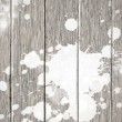 Постер, плакат: Retro wooden texture background with white stain