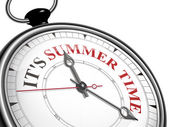 It is summer time concept clock — 图库矢量图片