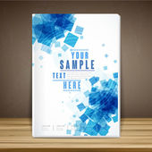 Abstract book cover template design  — Wektor stockowy