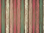 Colorful painted wooden background — Stock Vector