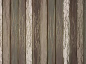 Painted wooden background in brown — Stockvektor