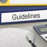 Guidelines binders — Stock Vector #62499853