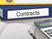 Contracts binders  — Stock Vector