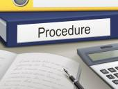 Procedure binders — 图库矢量图片