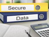 Secure and data binders  — Stockvector
