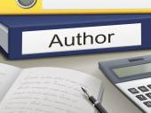 Author binders — Stock Vector