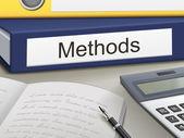 Methods binders — Stock Vector