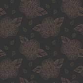 Delicate retro floral seamless pattern background — Vetorial Stock