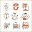 Positive quotes set — Stock Vector #72282579