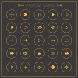 Modern arrows icons set — Stockvector  #72433875
