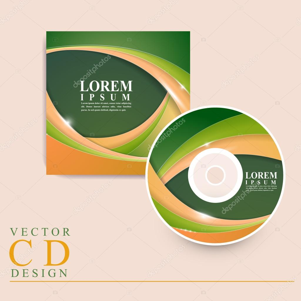 modern cd cover template design stock vector copy kchungtw  modern cd cover template design stock vector 77057563