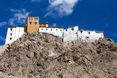 Tiksey Monastery is a Buddhist monastery in Ladakh, India ,  — Stock Photo