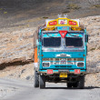 Truck on the high altitude Manali - Leh road , India — Stock Photo #59330217