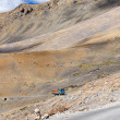 Truck on the high altitude Manali - Leh road , India — Stock Photo #59330245