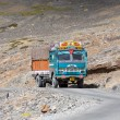 Truck on the high altitude Manali - Leh road , India — Stock Photo #59330281