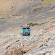 Truck on the high altitude Manali - Leh road , India — Stock Photo #59330305