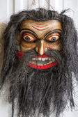 Sri Lankan handmade masks from evil spirits — Stock Photo